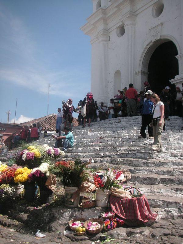 Kirche Santo Tomás in Chichicastenango