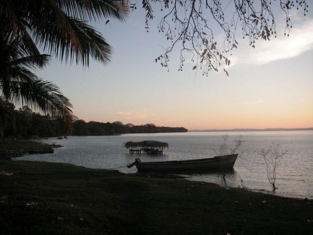 Strand des Nicaraguasees