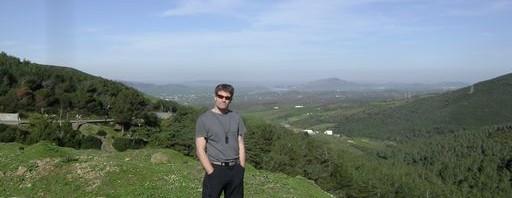 Ingo im marrokanischen Hochland
