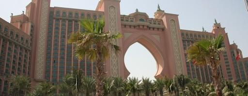 """Atlantis Dubai auf der künstlich angelegten Insel """"The Palm Jumeirah"""""""