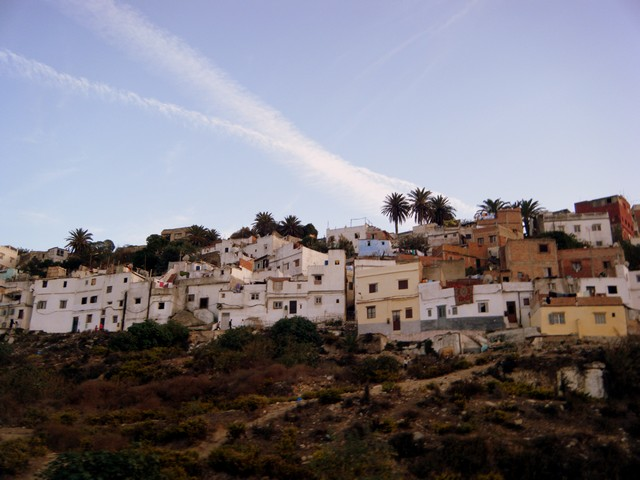Häuser in Tanger
