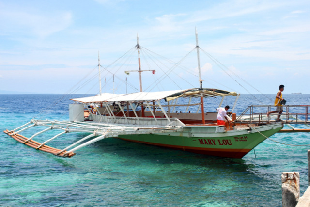 Überfahrt nach Cebu