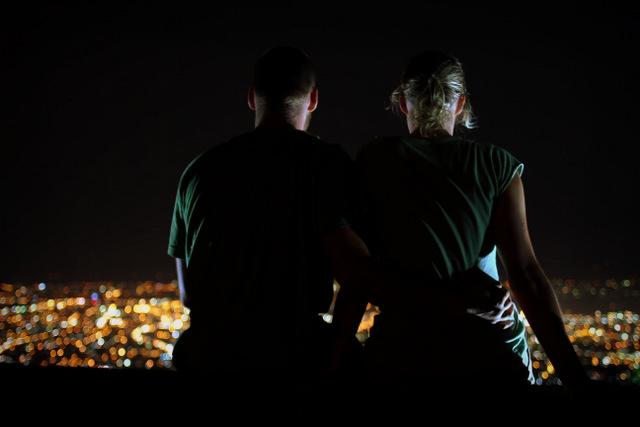 Tops - Ein Aussichtspunkt mit Blick auf Cebu City bei Nacht