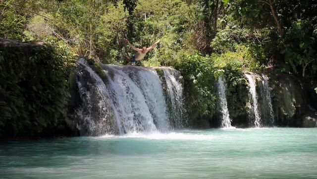 Cambuhagay-Wasserfälle