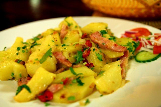 Bratkartoffeln aus Rumänien