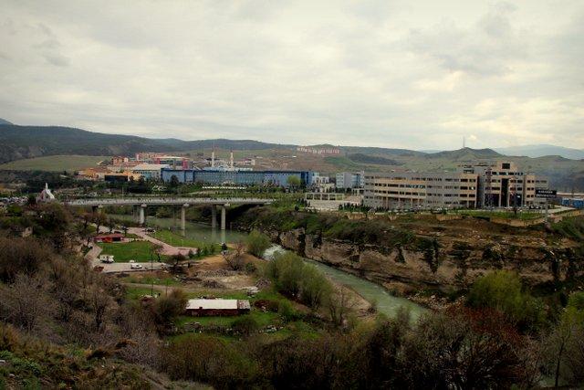 Der eindrucksvolle Campus der Universität Karabük.