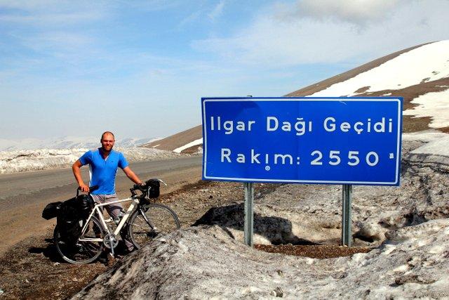Unser höchster Pass in der Türkei.