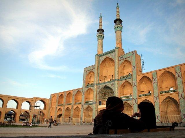 Der Amir-Chakhmakh-Komplex in Yazd.