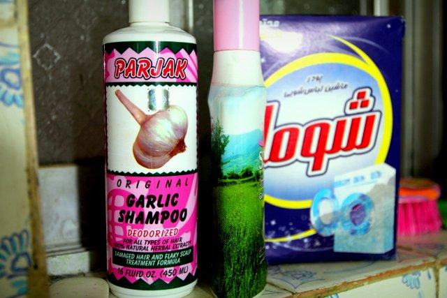 Knoblauch-Shampoo, auch was Feines!