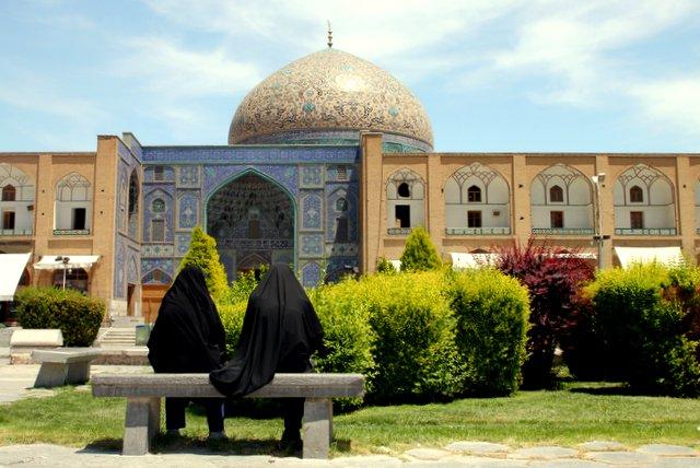 Die Scheich-Lotfollāh-Moschee.