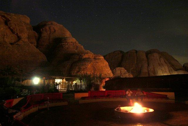 Das Seven Wonders Bedouin Camp bei Petra in Jordanien.