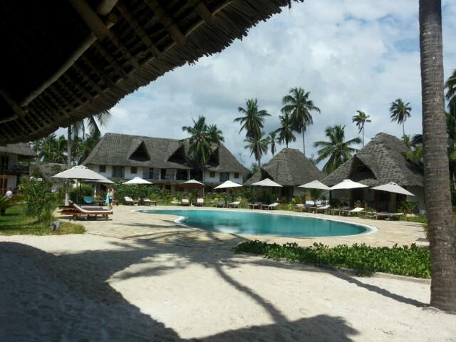 Am Ende unser Tour gönnen wir uns noch etwas Luxus im Pongwe Bay Resort.