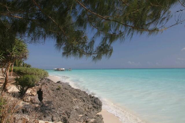 Traumhafter Strand in Nungwi, Sansibar.
