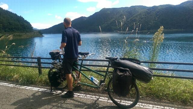 Mit dem Fahrrad an den Fuji Five Lakes