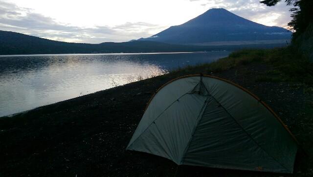 Zelten am Fuji
