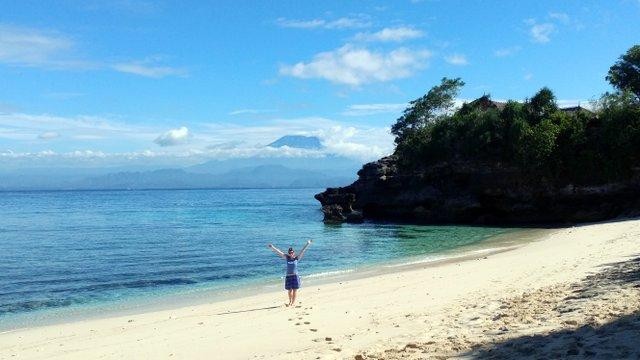 Tamarind Beach auf Nusa Lembongan
